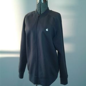 Apple Employee Mens Large uniform sweater jacket